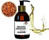 B.O.T cosmetic & wellness Bio Zertifizert Mandelöl kaltgepresst Öl, 1000 ml