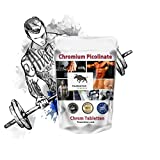 Pure Chrom Picolinat Chrom Tabletten: 500 Tabletten Chromium Picolinate - Vegan - gilt als beste Quelle für das Chrom Hammerpreis
