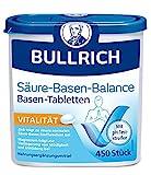 Bullrich Säure-Basen-Balance Basentabletten, inklusive 12 pH-Teststreifen, 450 Tabletten