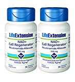 Life Extension, NAD+ Cell RegeneratorTM Nicotinamide Riboside, 100mg, 2x 30 Veg. Kapseln