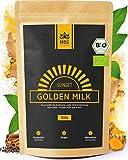 Holi Natural®️ Golden Milk Sunset   BIO Kurkuma Latte Mischung mit Ashwagandha   30 Portionen   Hoher Curcumingehalt   Hohe Bioverfügbarkeit
